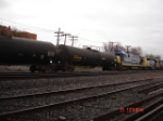 CSX 7039, CSX 8031 & UTLX Tankcar 663484 EB